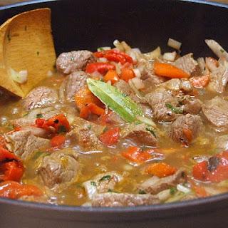 Basque Lamb Stew