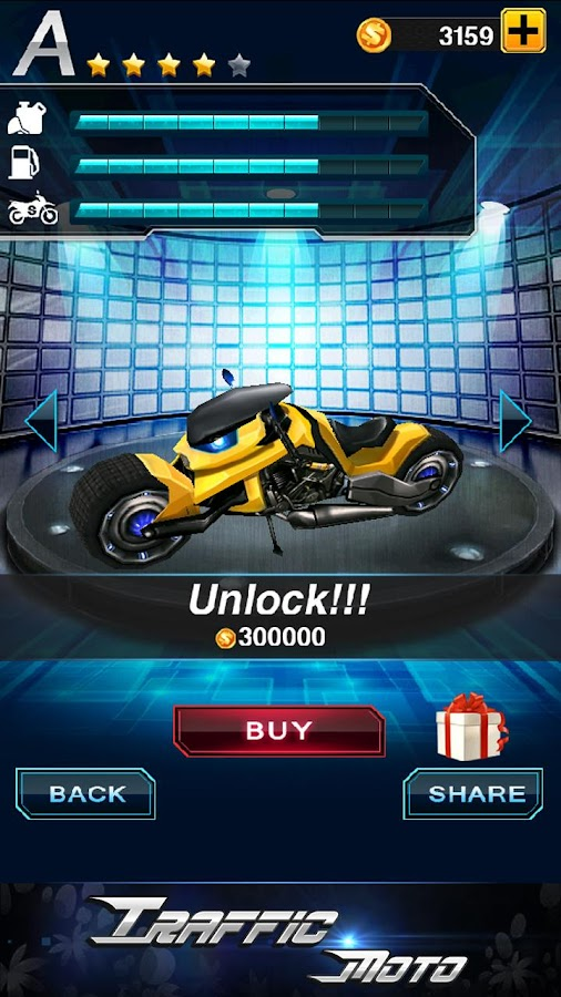 Traffic Moto - screenshot
