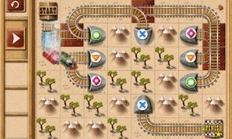 Screenshot of Rail Maze : Train puzzler
