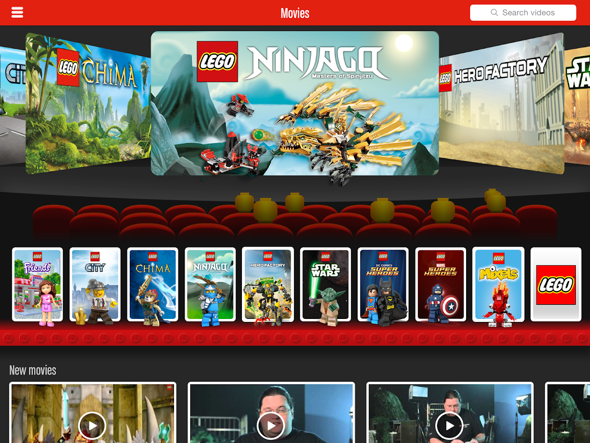 LEGO® TV- screenshot