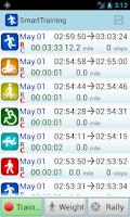 Screenshot of SmartTraining
