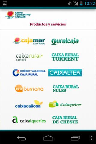 Grupo Cooperativo Cajamar - screenshot