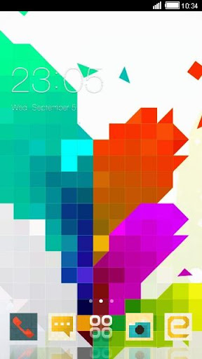 Pixel Art C Launcher Theme