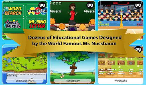 Super Games by Mr. Nussbaum
