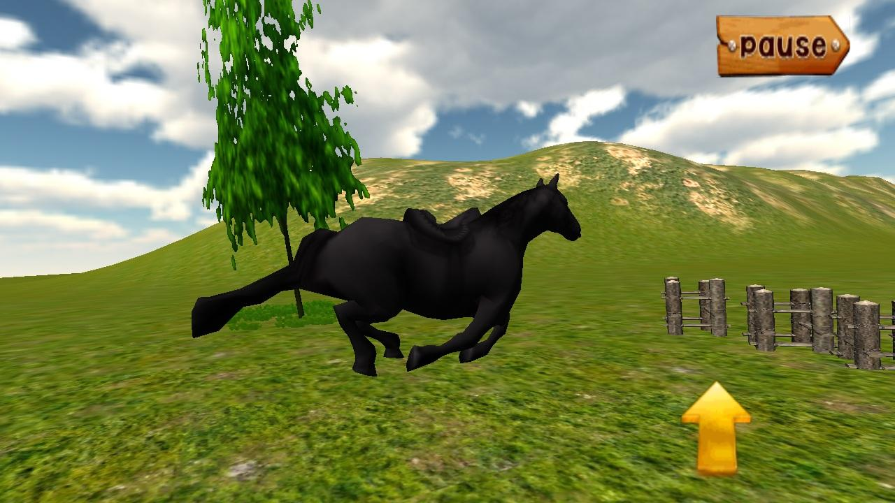 Forest Horse Jumping- screenshot