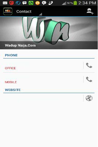 Wadup Naija- screenshot