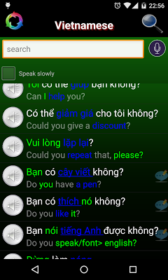 Learn Vietnamese Pronunciation - screenshot
