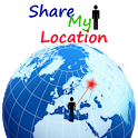 Share My Location-Social logo