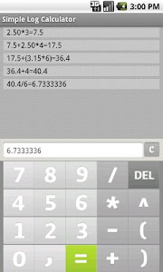 Share Calculator to Friends screenshot 1