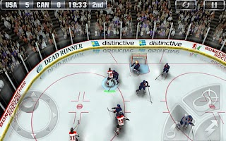 Screenshot of Hockey Nations 2011 THD Demo