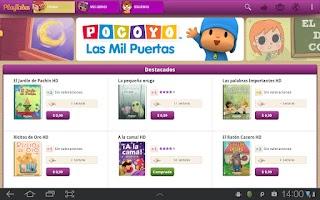 Screenshot of PlayTales
