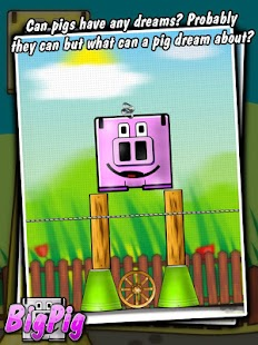 Big Pig - physics puzzle game- screenshot thumbnail