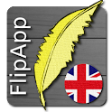 FlipApp Famous Quotes English logo