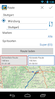 Screenshot of mehr-tanken premium