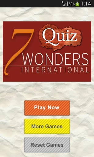 【免費拼字App】Quiz 7 Wonders of The World-APP點子