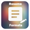 Resume Formats Download icon