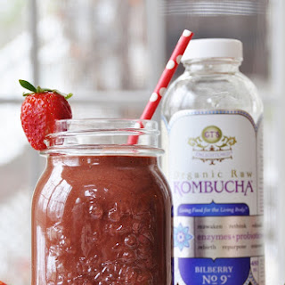 Kombucha Berry Smoothie.