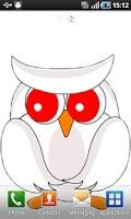 Screenshot of Owl Live Wallpaper