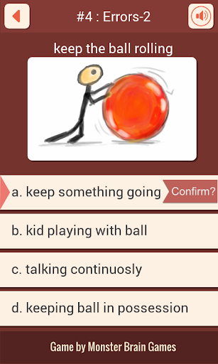 Idiom Game Quiz