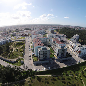 The Round World by Sergio Martins - Buildings & Architecture Other Exteriors ( drone, corroios, dji, aerial, portugal, photo )