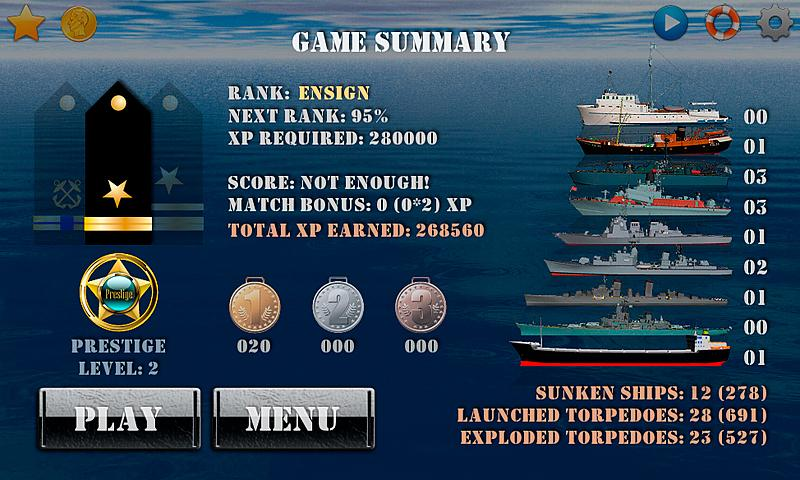 Silent Submarine - Naval war! - screenshot
