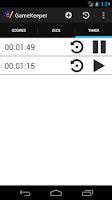 Screenshot of GameKeeper