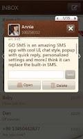 Screenshot of GO SMS Pro SimplePaper theme