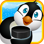 Air Hockey Penguin:Penguin Ice