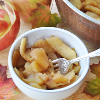 Pumpkin Spice Apple Sauce.
