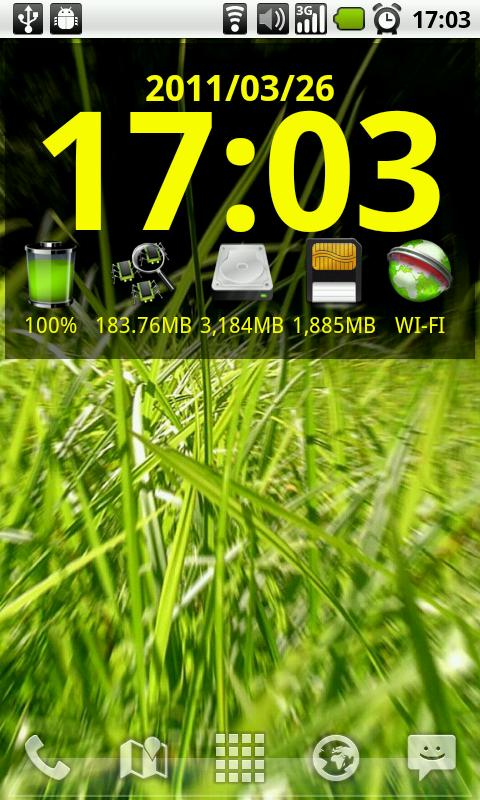 Maybe System Info(Widget) - screenshot