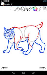 如何繪製:野生動物|玩教育App免費|玩APPs