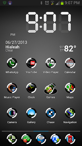 HD Icons: White Bio-Sphere