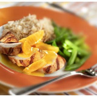 Gegrilde Kipfilet Met Sinaasappelsaus