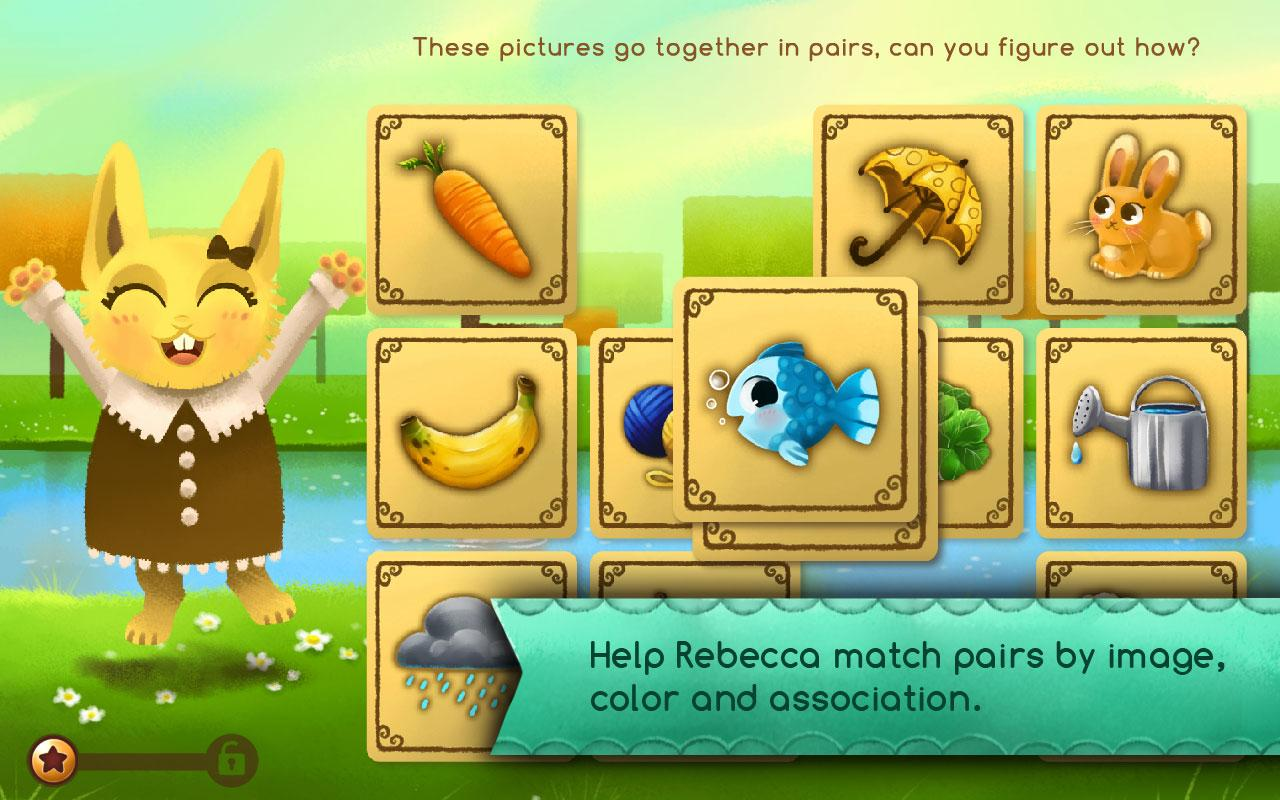 Becca's Matching Game- screenshot