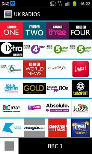 British UK Radios