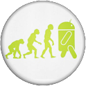 3D Pin NERDS icon