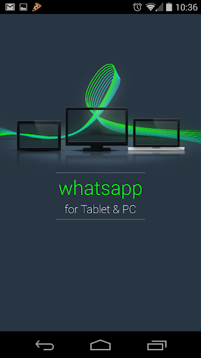 Install Whats App Tablet PC