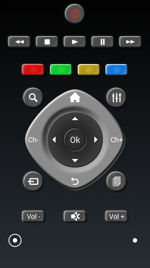 RCoid free - IR Remote Control- screenshot