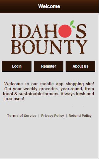 Idaho's Bounty