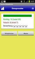 Screenshot of Learn German DeutschAkademie
