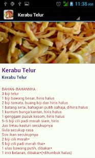 Resepi Kerabu Tradisi - náhled