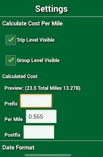 Track My Mileage- screenshot thumbnail