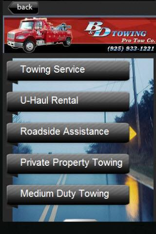 B and D / B&D Towing - screenshot