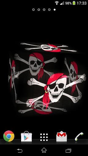 3D Jolly Roger LWP