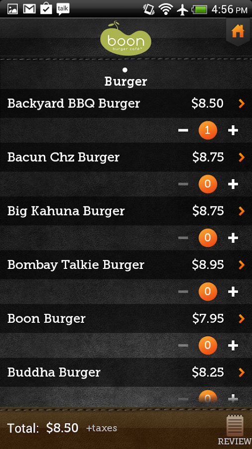Boon Burger Café- screenshot