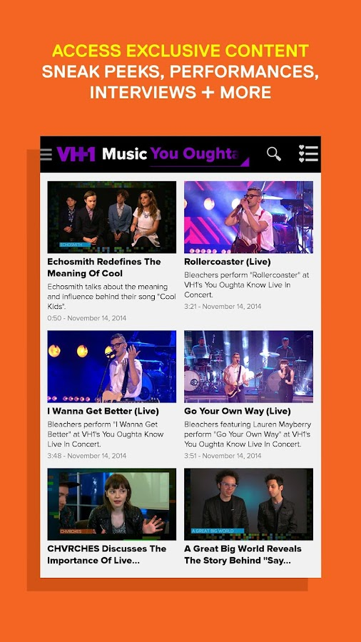 Watch VH1 TV - screenshot