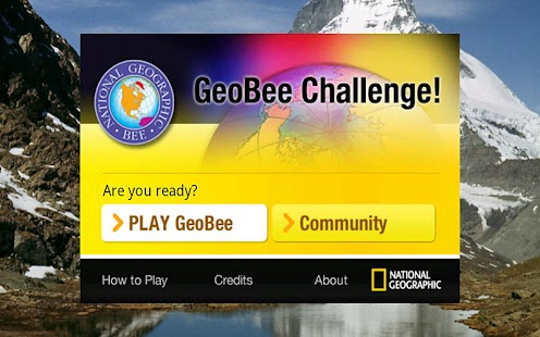 GeoBee Challenge- screenshot thumbnail