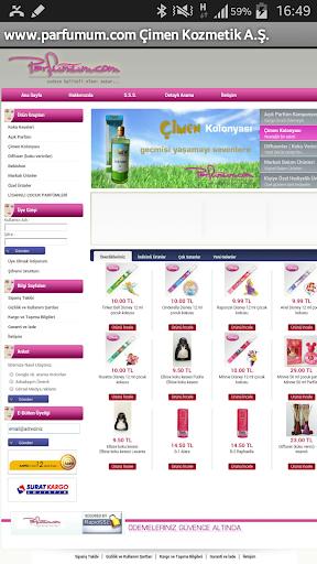 parfumum.com Çimen Kozmetik AŞ