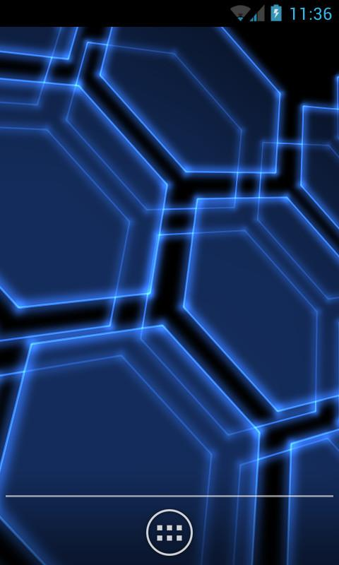Digital Hive Live Wallpaper - screenshot