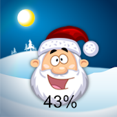 Santa Battery Widget pro